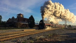 N&W 611: Steaming Across the Piedmont! (Charlotte & Greensboro Trips) - April 9, 2017