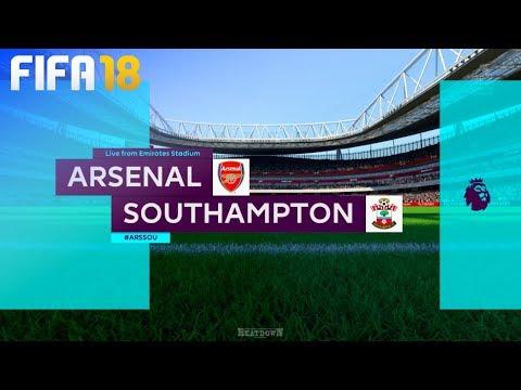 FIFA 18 - Arsenal vs. Southampton @ Emirates Stadium