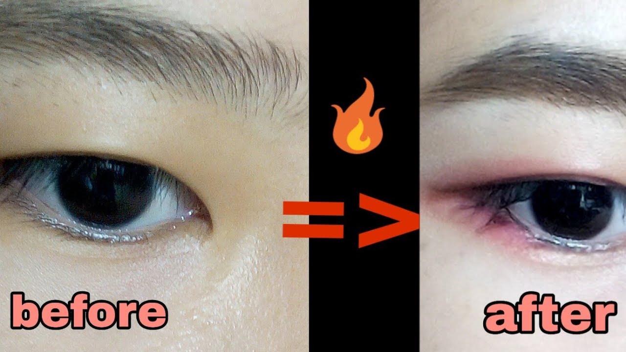 Hướng dẫn makeup mắt 1 mí lót đi chơi noel 🎁