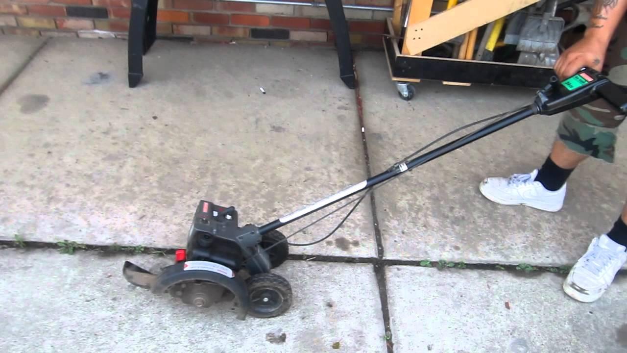 Craftsman Gas Edger 24cc Youtube
