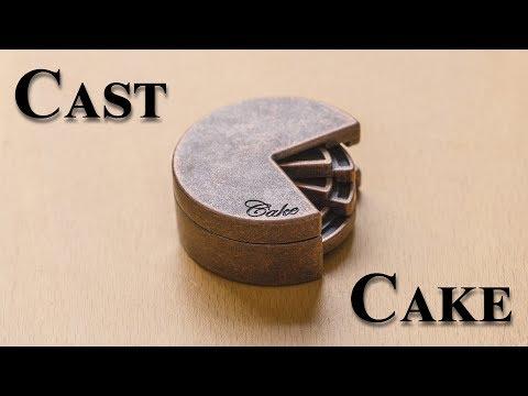 The PAC-MAN Puzzle aka. the Cast Cake by Hanayama