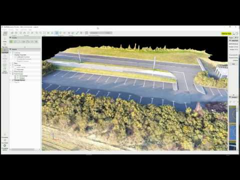 Drone 3D photogrammetry mapping
