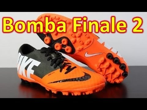 finest selection 56135 bbc30 Nike FC247 Bomba Finale 2 II Total Orange - Unboxing + On Feet - YouTube