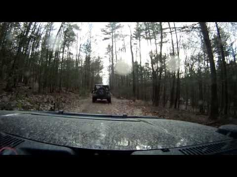 Knob Ridge RD/Locust Ridge RD in Bald Eagle State Forest