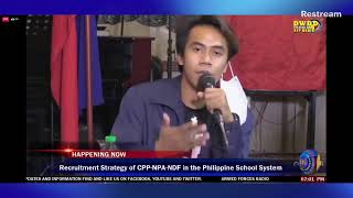 SAMBAYANAN | Unmasking the deception and infiltration of the CPP-NPA-NDF in Philippine School System