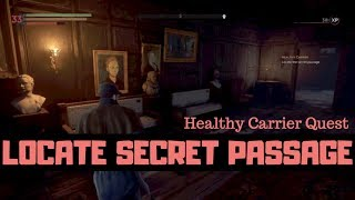 VAMPYR - Locate The Secret Passage - Healthy Carrier Quest - Lady Ashbury's Castle How To Find It