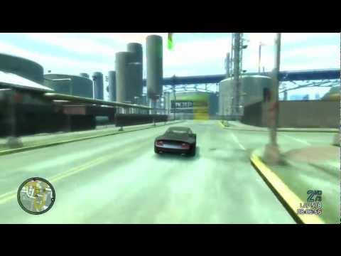 Grand Theft Auto 4 Multiplayer Race – Industrial Action (Fast Lap)