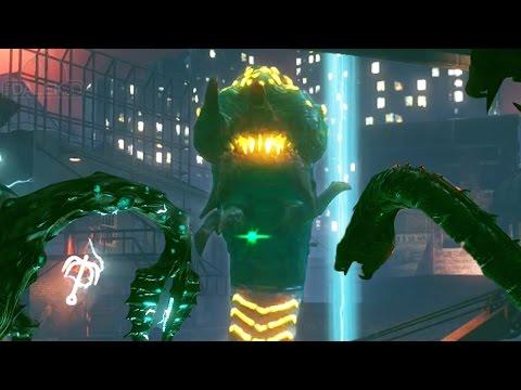 """SHADOWS OF EVIL"" EASTER EGG - UNLIMITED BEAST MODE & HUGE WORM! EASTER EGG! (Black Ops 3 Zombies)"