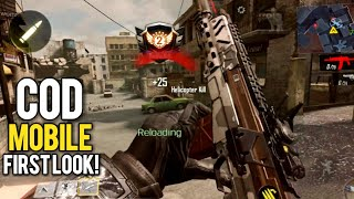 Call of Duty MOBILE! | First Look + Gameplay on ULTRA Graphics 60fps
