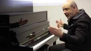 Ian Jones Demonstrates the Bentley 115T Upright Piano