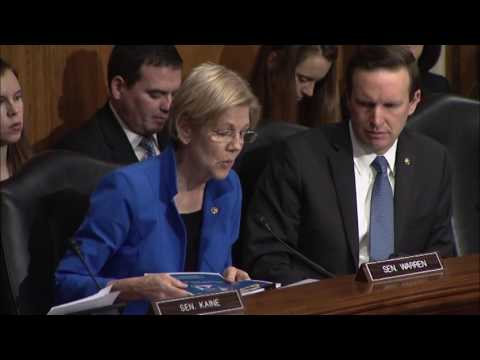 Senator Elizabeth Warren questions Tom Price about Medicare and Medicaid Cuts