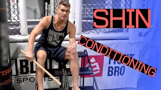 How To Condition Your Shins | Stephen Wonderboy Thompson