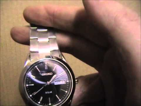 Seiko Solar Powered Watch SNE039P1