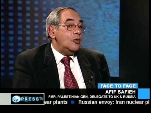 Face to Face: Lauren Booth meets Afif Safieh: Future of Palestine? (3)