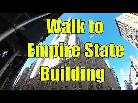 ⁴ᴷ Walking Tour of Manhattan, NYC - 5th Avenue from Washington Square Park to Empire State Building