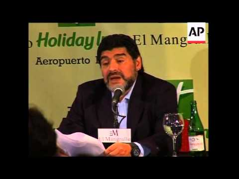 Diego Maradona says Carlos Bilardo 'betrayed' him