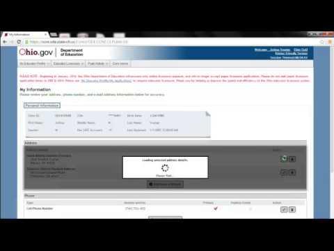 Renew Your License Online Part1