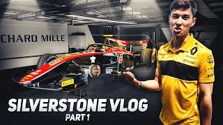 Driving a $100,000 Simulator & Tour of the F2 Paddock | F1 2018 British GP Vlog