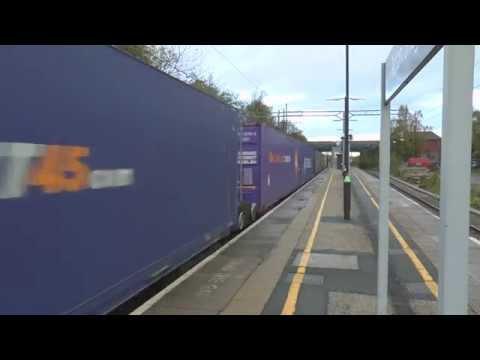 Freight Trains @ Acton Bridge - Friday 24th October 2014