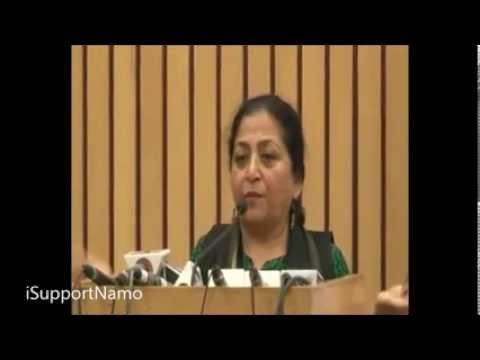 Congress Always Uses Secularism as a Tool : Madhu Kishwar