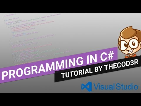 Visual Studio 2017 C# Programming Tutorial Episode One: Working With Basic Forms