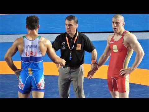 Freestyle Wrestling - Iran vs Tajikistan