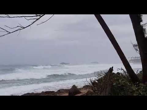 Marejada Ciclonica en Puerto Rico