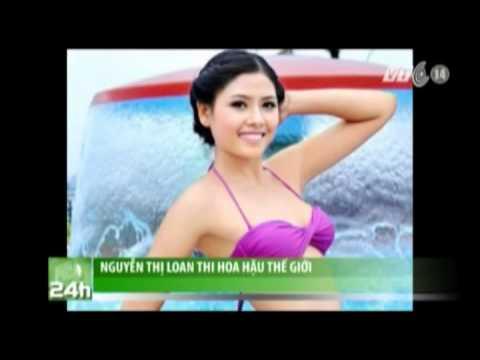 VTC14_Nguyễn Thị Loan thi Hoa hậu Thế giới