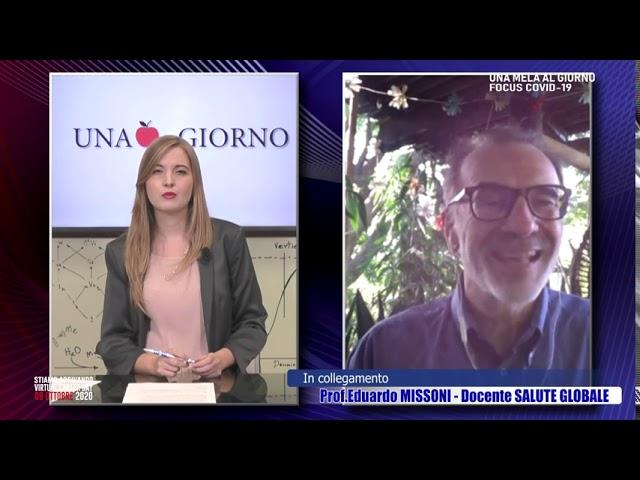 Una Mela al Giorno: Covid 19 e Test Rapidi, il focus con il Prof. Eduardo Missoni