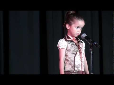 Our 4 year old daughter singing - You Belong With Me by Taylor Swift