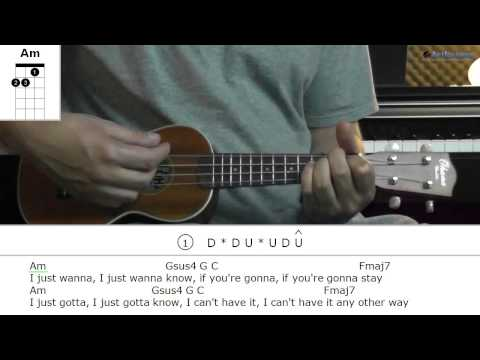 How to play Riptide with Vance Joy (Ukulele lesson plus guitar adaptation)