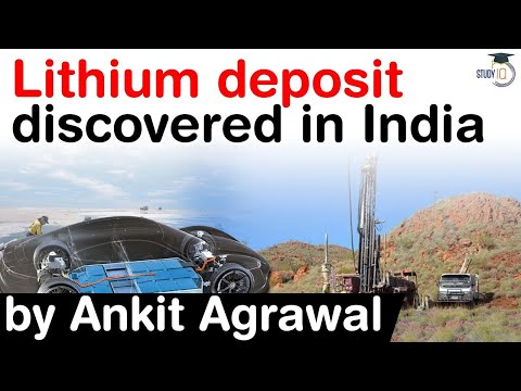 Discovery of first ever Lithium deposit in India in MANDYA Karnataka, Is Lithium the new oil?