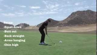 How to become a PGA Tour Player Part 2 Set up & posture