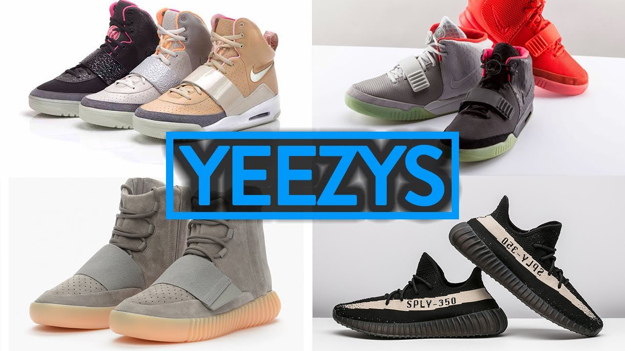 reputable site c1af1 ddbe2 LIFE OF A SNEAKERHEAD 11: ALL YEEZY SHOES EXPLAINED! | Fung Bros