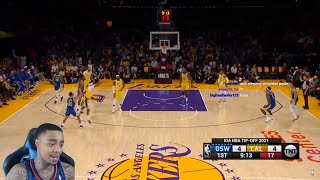 FlightReacts Golden State Warriors vs Lakers Full Game Highlights | October 19 | 2022 NBA!