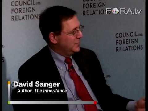 Should Obama Continue Covert Operations In Iran? - David Sanger