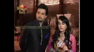 On location of TV Serial 'Qubool Hai' Nikaah of Joya and Asad 1