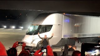 Tesla Semi Unveil - and one more thing…