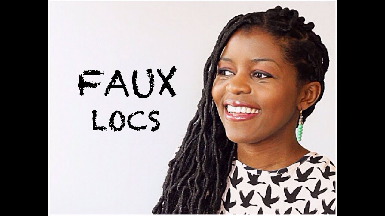 Simple Faux Loc Tutorial | Natural Hair | Protective Style ...