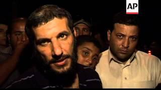 Celebrations as released prisoners arrive in Benghazi 2017 Video