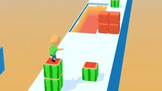 Cube Surfer! - All Levels 1 - 15 Max Level (Android, iOS) #1