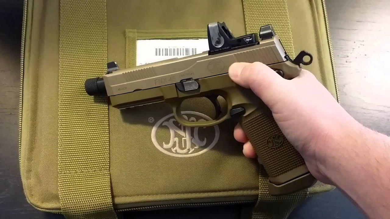 FNX 45 Tactical fde - YouTube