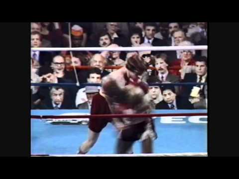 Marvelous Marvin Hagler Vs  Tony Sibson Rds 1 2 3 4