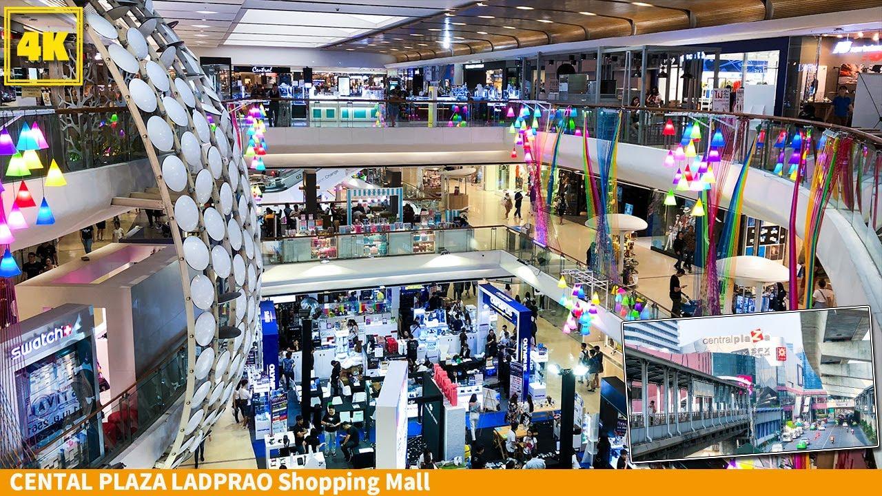 Walk inside Central Plaza Ladprao