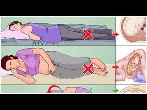 posiciones de dormir una mujer embarazada