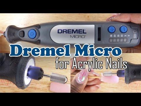 Dremel Micro 8050 for Acrylic Nails | Nail Drill Review