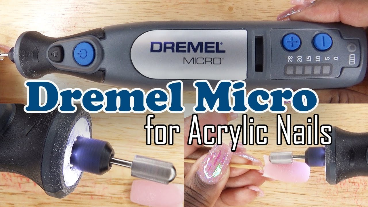 Dremel Micro 8050 for Acrylic Nails | Nail Drill Review ...