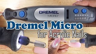 Dremel Micro 8050 for Acrylic Nails | Nail Drill Review | LongHairPrettyNails