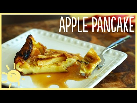 EAT | Apple Puffed Pancake (feat. Meg