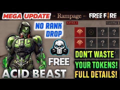 FREEFIRE Rampage Flip Event Details , No Rank Drop , Venom Touch Bundle For EveryOne , Pet Skins 🔥
